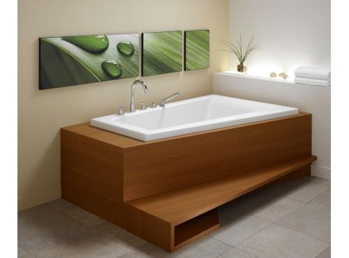 Neptune - BORA acrylic corner bathtub