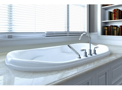 Neptune - ELYSEE acrylic oval bathtub