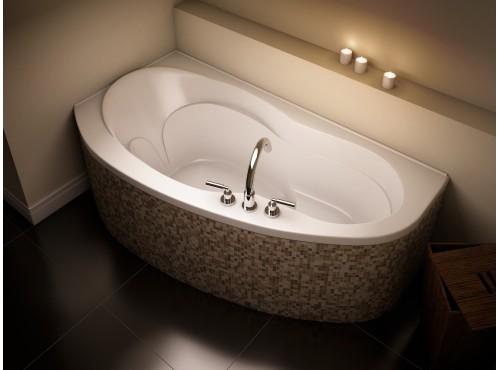 Neptune - MILOS acrylic corner bathtub