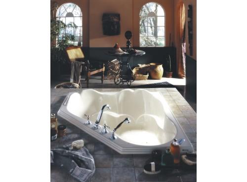 Neptune - ORPHEE acrylic corner bathtub