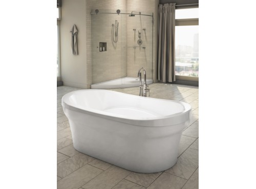 Neptune - REVELATION freestanding acrylic oval bathtub