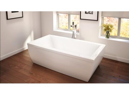 Neptune - SAPHYR freestanding acrylic rectangular bathtub