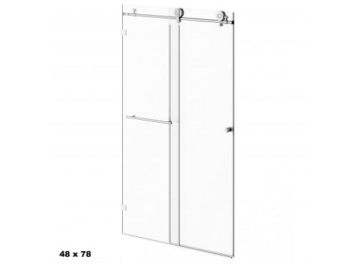 Neptune - KARMA shower door no return panel