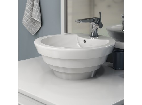 Neptune - SIENNA round above counter sink