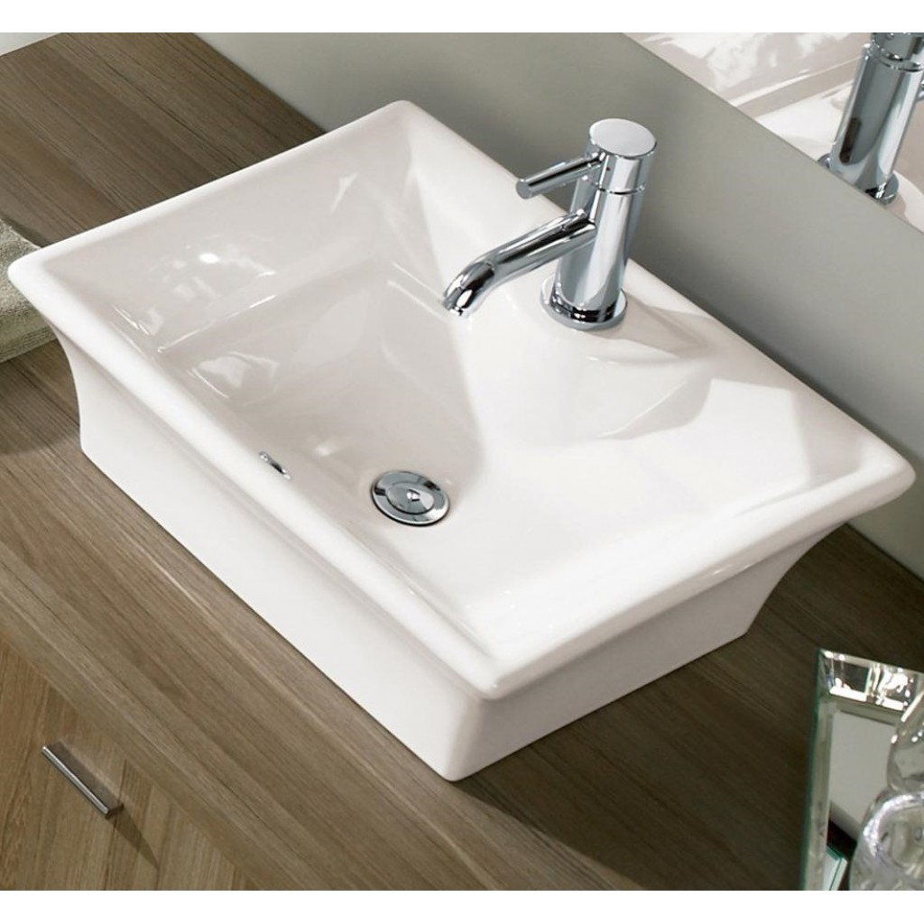 Awesome Neptune   TORINO Rectangular Above Counter Sink