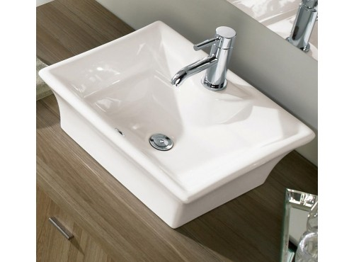 Neptune - TORINO rectangular above counter sink