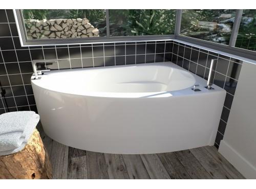 Neptune - WIND acrylic corner bathtub
