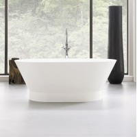Neptune - WISH 01 freestanding polymer oval bathtub
