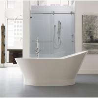 Neptune - WISH 02 freestanding polymer oval bathtub