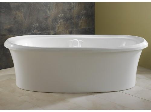 Neptune - ZIRCON freestanding acrylic oval bathtub