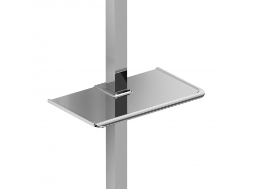 Riobel -Soap dish for square sliding bar - 240C Chrome