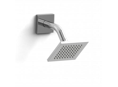 """Riobel -10 cm (4"""") shower head with arm - 384C Chrome"""
