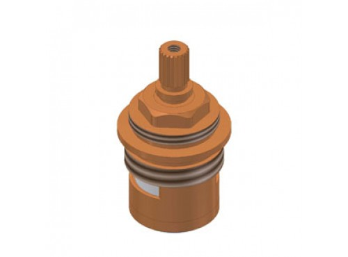 Riobel -Floor riser hot (left) cartridge faucet - 401-048