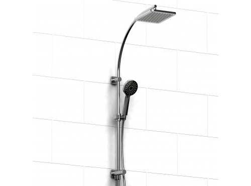 Riobel -DUO shower system with external supply - 4257C Chrome