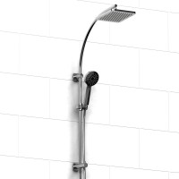 Riobel -DUO shower system with built-in supply - 4267C Chrome