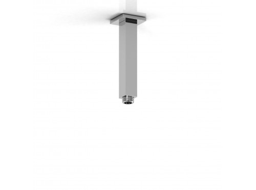 "Riobel -15 cm (6"") vertical square shower arm - 548"