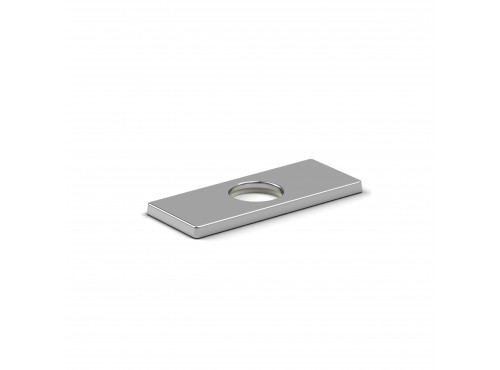 "Riobel -4"" center rectangular deck plate - 5604"