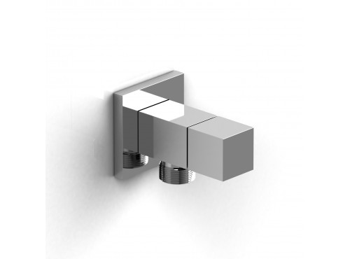 Riobel -Elbow supply with shut-off valve - 744