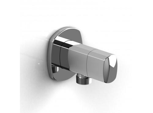 Riobel -Elbow supply with shut-off valve - 799C Chrome