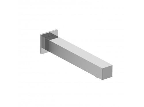 Riobel -Square wall-mount tub spout  - 885C Chrome