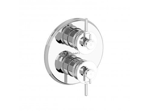"Riobel -4-way ¾"" coaxial complete valve - AT83"