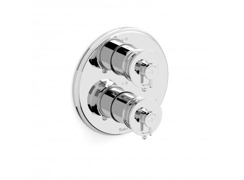 Riobel -4-way coaxial valve trim - TATOP46