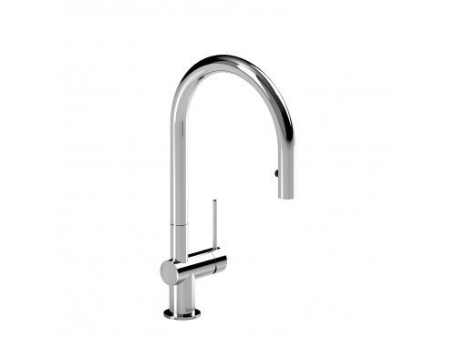 Riobel -Kitchen faucet with spray - AZ101C Chrome