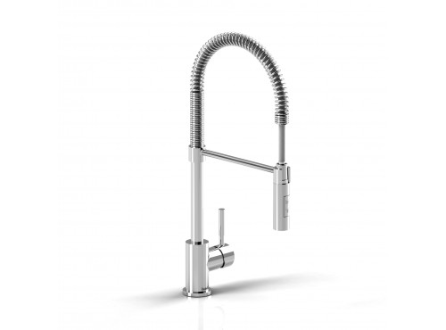 Riobel -Bistro tall kitchen faucet with spray - BI201