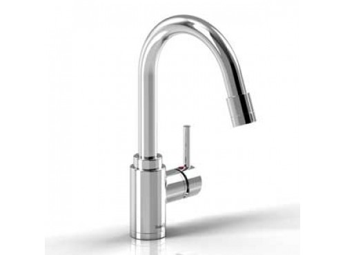 Riobel -Kitchen faucet with spray - BO101SS Stainless steel