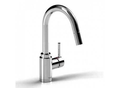 Riobel -Bora tall kitchen faucet with spray - BO201