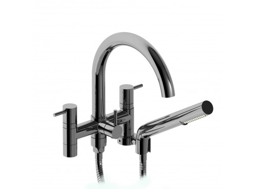 "Riobel -6"" tub filler with hand shower - CS06"