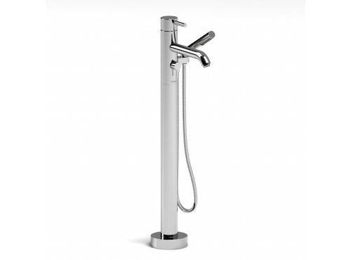 Riobel -Floor-mount tub filler with hand shower trim  - TCS33