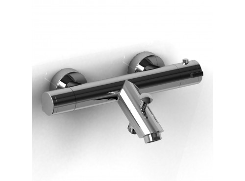 "Riobel -Type T (thermostatic) ½"" external bar with spout - CSTM81C Chrome"