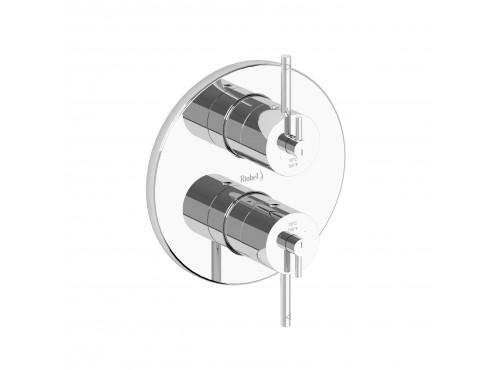 "Riobel -4 way ¾"" coaxial valve trim - TCSTM83C Chrome"