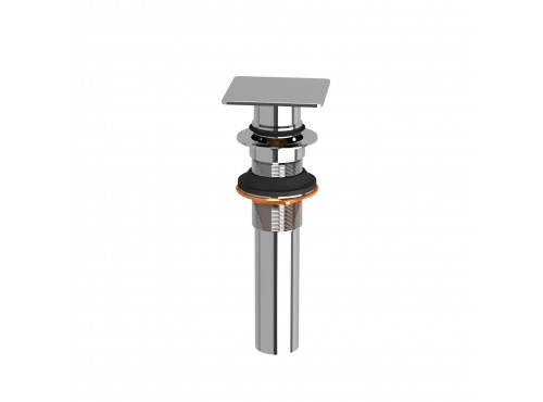 Riobel -Lavatory push drain without overflow - DL140C Chrome