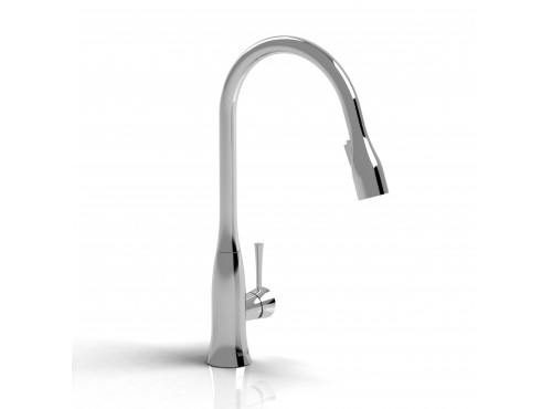 Riobel -Edge kitchen faucet with spray - ED101