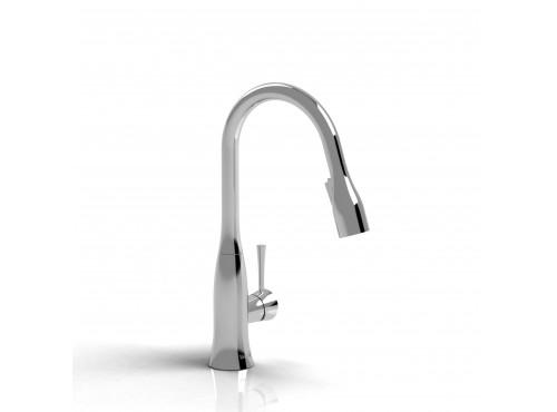 Riobel -Edge single hole prep sink faucet - ED601