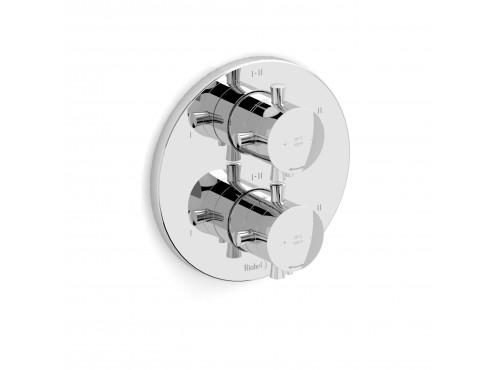 "Riobel -4-way ¾""coaxial complete valve - EDTM46+"