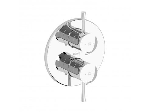 "Riobel -4-way ¾"" coaxial complete valve - EDTM83"
