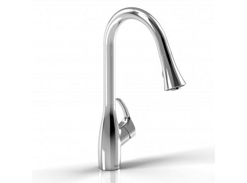 Riobel -Flo kitchen faucet with spray - FO101