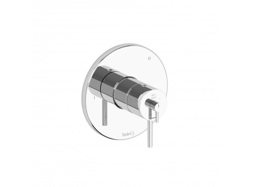 Riobel -3-way coaxial complete valve - GS45C Chrome