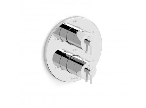 "Riobel -4-way ¾""coaxial complete valve - GS46C Chrome"