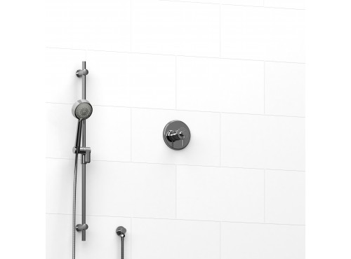 """Riobel -½"""" 2-way coaxial system with hand shower rail - KIT#123ATOP"""