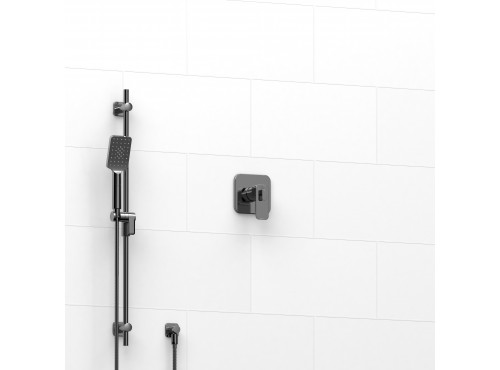 """Riobel -½"""" 2-way coaxial system with hand shower rail - TKIT#123EQ"""