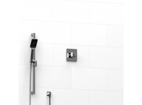 "Riobel -½"" 2-way coaxial system with hand shower rail - KIT#123KSTQ"