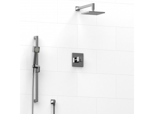 Riobel -½'' coaxial 2-way system with hand shower and shower head - KIT#3023