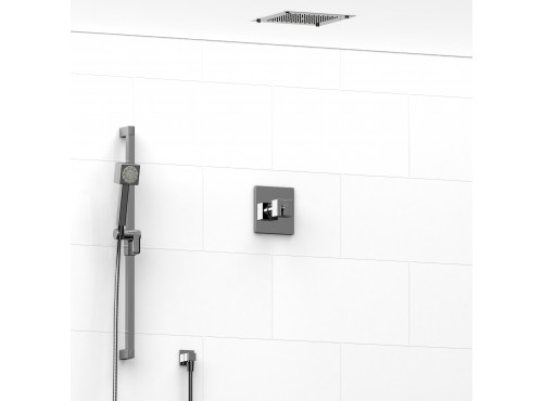 Riobel -½'' coaxial 2-way system with hand shower and shower head - KIT#3123