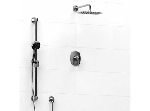 Riobel -½'' coaxial 2-way system with hand shower and shower head - KIT#323VY