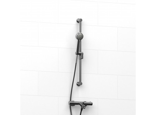 Riobel -External thermostatic with spout and 5055 rail - KIT#4181CSTM