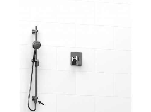 """Riobel -½"""" 2-way coaxial system and hand shower rail - KIT#6123ZOTQ"""